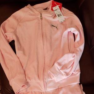 Girl's Puma Jogging Suit